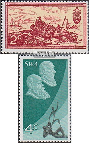 Namibia - Southwest 365-366 (Complete.Issue.) 1971 10 Years Republic South Africa (Stamps for Collectors)