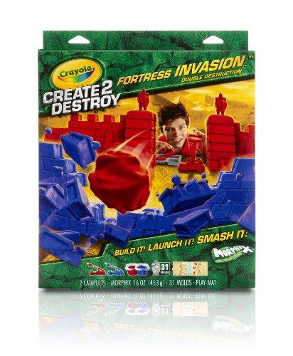 Crayola Create 2 Destroy Fortress Invasion Double Destruction