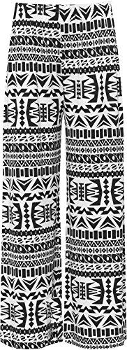 WearAll Womens Print Palazzo Trousers