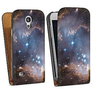 Diseño para Samsung Galaxy S4 Mini I9195 DesignTasche Downflip black - Junge Sterne