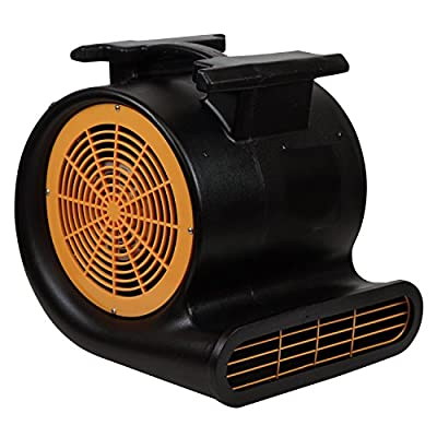 Mounto 3-Speed Air Mover Blower 1HP 4000+ CFM Monster Floor Carpet Dryers