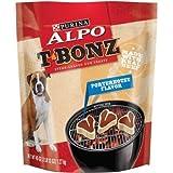 ALPO T-Bonz Porterhouse Flavor Steak-Shaped Dog Treats 45 oz. Bag Review