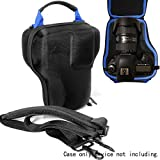 DSLR Camera and Lens kit Semi Hard Case for Canon EOS 7D 6D 5D Mark II III IV 5DS R EF 24-105mm f/4 F4 L is USM EF 24-70mm f/2.8L II USM DSLR Lens Kit, Strong, Removal Padding, Hand/Shoulder Strap