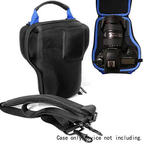 WGear DSLR Camera Lens kit Semi Hard Case for Canon EOS 7D 6D 5D Mark II III IV 5DS R EF 24-105mm f/4 F4 L is USM EF 24-70mm f/2.8L II USM DSLR Lens Kit, Strong, Removal Padding, Hand/Shoulder Strap