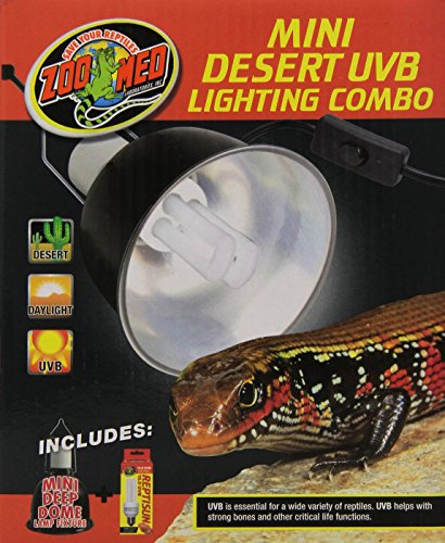 - Zoo Med Combo Desert UVB Lighting, Mini