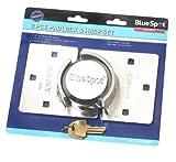 Shackleless Hasp & Lock Heavy duty Van Door Shed Garage Lock Security Lock by BLUST