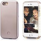 PopSmart Selfie Light iPhone Case 6 6s ,Rose Gold