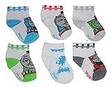 Thomas & Friends Baby Boys 6-pair Socks