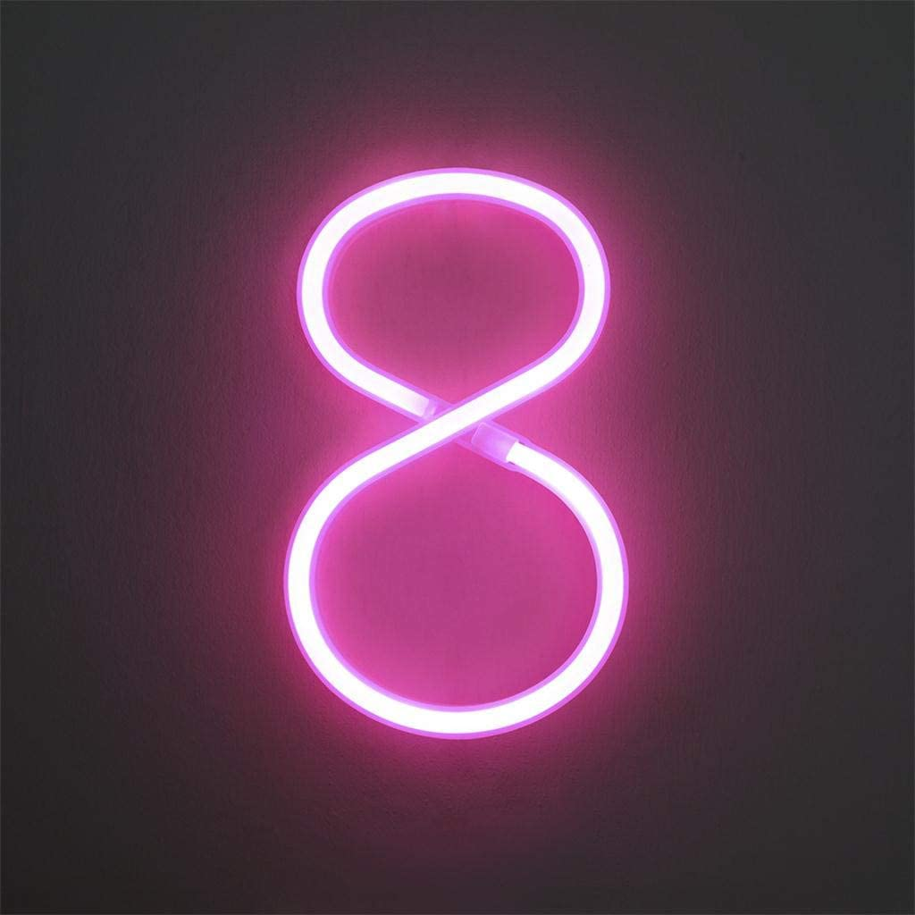Free Standing Letter S in light Pink