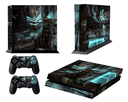 Price comparison product image EBTY-Dreams Inc. - Sony Playstation 4 (PS4) - Dead Space 3 Video Game Isaac Clarke Vinyl Skin Sticker Decal Protector