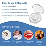 Snore Stopper Device, Rlloy 2 Pack Silicone