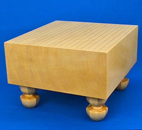 囲碁盤 新かや6寸足付碁盤 ※将碁屋椿油付き