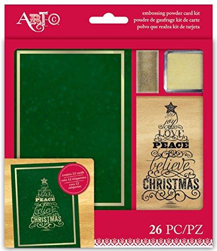 Momenta Joy, Love, Peace Embossing Powder Card Kit