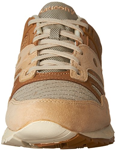 Saucony Mens Grid SD Quilted Sneaker Tan yFTvpS