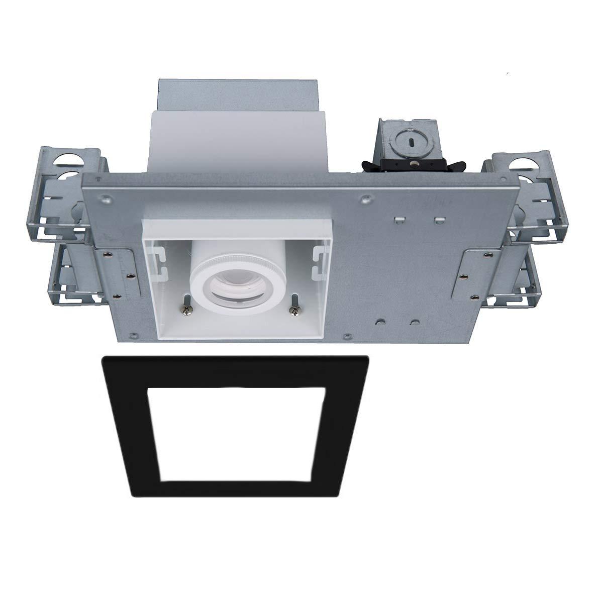大量入荷 WAC Lighting Lighting MT-4110T-935-WTBK WAC B07HGVK94D Silo 複数のシングル構造IC定格気密ライトエンジンハウジング&LED、ホワイトブラック B07HGVK94D, スワローキッチン:430cd8e2 --- itourtk.ru