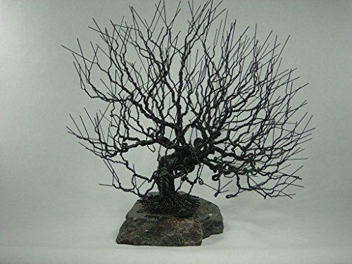 Natural Wire Bonsai Tree Sculpture by Wire Bonsai Tree Sculpture