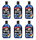 Turtle Wax Color Magic Ultra Shades of Blue New Formula Colored Car Polish 500ml - Pack of 6