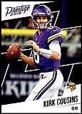 #7: 2018 Prestige NFL #186 Kirk Cousins Minnesota Vikings Panini Football Card