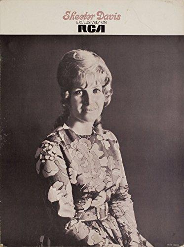 Skeeter Davis 1960s U.S. Standee