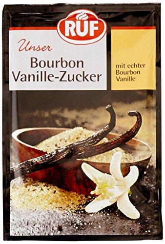 Ruf Bourbon-Vanille-Zucker, 11 x 3er Pack (11 x 3 x 24g Packung)