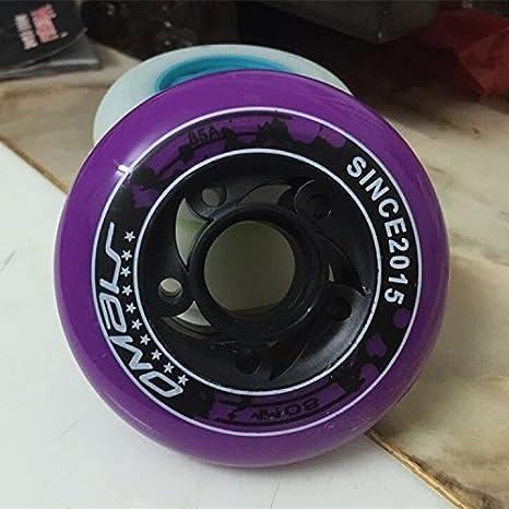 unory (TM) Omar ruedas de patines sobre Slalom deslizante 85 A rueda para Seba