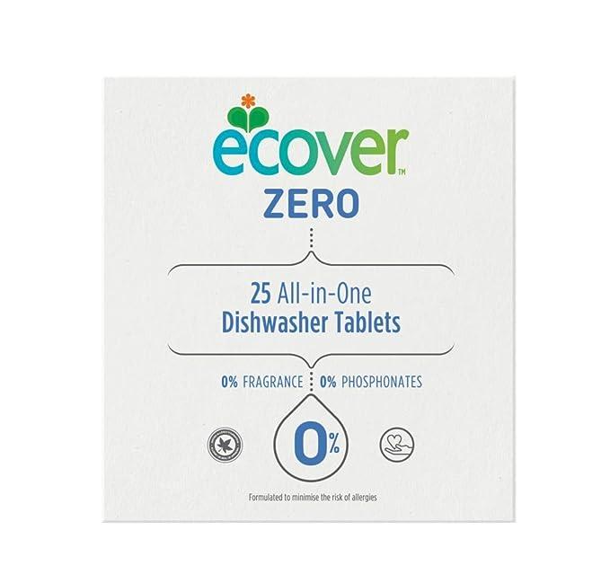 Ecover todo en uno Pastillas lavavajillas 25 por paquete: Amazon ...