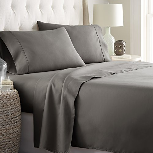 Hotel Luxury Bed Sheets Set Today! On Amazon Softest Bedding 1800 Series Platinum Collection-100%!Deep Pocket,Wrinkle & Fade Resistant (Twin, Gray) - bedroomdesign.us