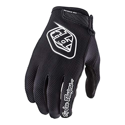 Lee Jersey Gloves - 2018 Troy Lee Designs Youth Air Gloves-Black-YL