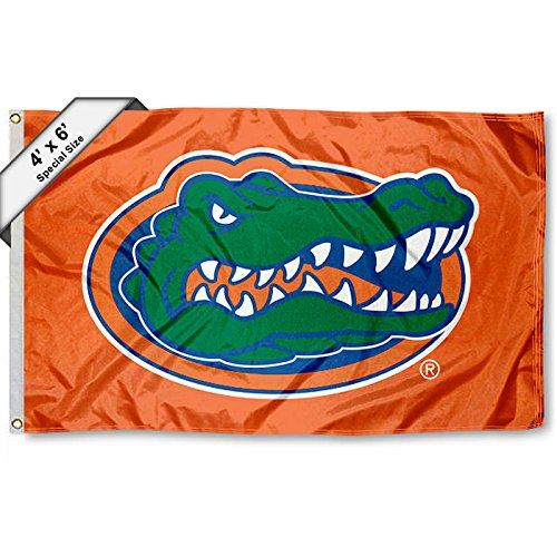 Florida UF Gators 4'x6' Flag (Banner Gators Florida)