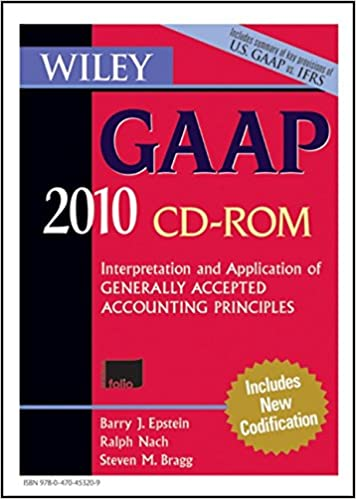 Wiley gaap 2010 interpretation and application of generally wiley gaap 2010 interpretation and application of generally accepted accounting principles wiley gaap cd rom 8th edition fandeluxe Images