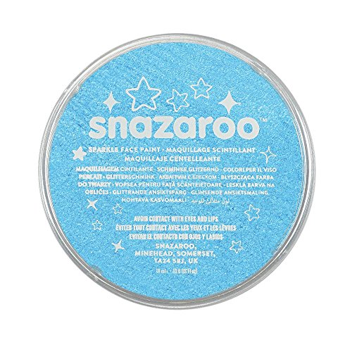 (Snazaroo Face and Body Paint, 18ml, Sparkle)