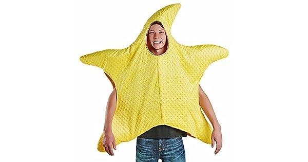 Amazon.com: Estrella de mar de adultos disfraz talla única ...