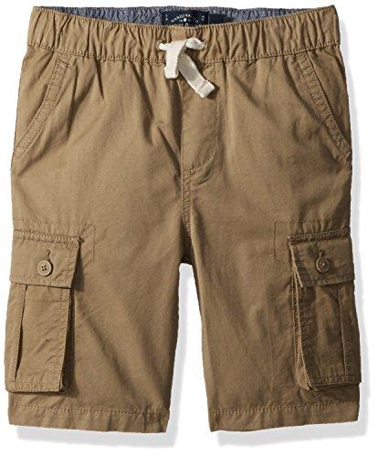 Lucky Brand Boys' Little Cargo Shorts, Pull on Kelp, 7 ()