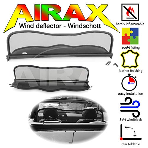 Airax windscherm voor Colt CZC Cabriolet Windabweiser Windscherm Windstop Wind deflector déflecteur de vent