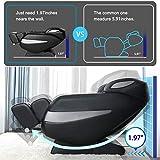 Massage Chair, Zero Gravity SL Track Massage Chair, Full Body Shiatsu Massage Chair Recliner with Space Saving, Yoga Stretching, Bluetooth Speaker, Heat, Foot Roller&Vibrator Ugears B-L1