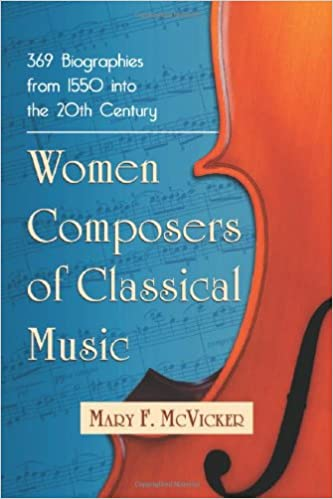 Women Composers of Classical Music: 369 Biographies Through the Mid