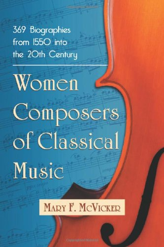 Women Composers of Classical Music: 369 Biographies Through the Mid-20th Century