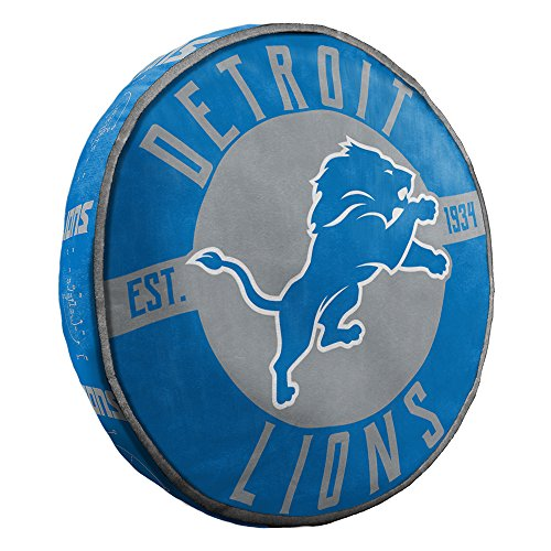 The Northwest Company Detroit Lions NFL 15in Cloud Travel Pillow