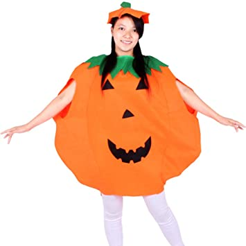 Huhuswwbin zucca di Halloween party adulti bambini Cosplay costume  travestimento - Adulto 6d69247777cf