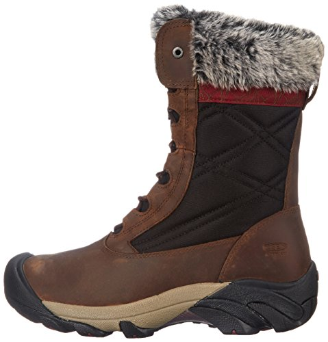 KEEN mujers Hoodoo III Winter Boot, Cascade marrón/Zinfandel, 6 M US