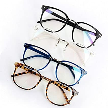 39eae80bc2a Amazon.com  Unisex Tide Optical Glasses Round Frame Eyeglasses Metal Arrow  UV400 Lens Eyewear  Everything Else