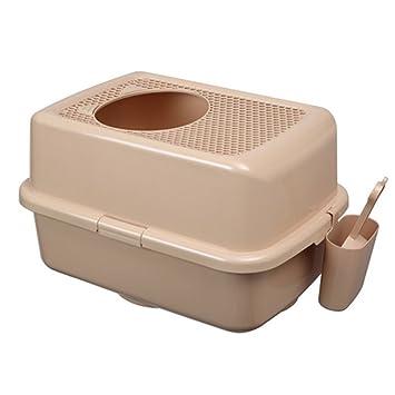 Amazon.com: Smart Paws entrada superior gato caja de arena ...