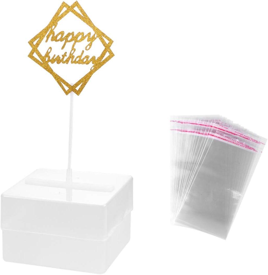 Amazon.com: Yardwe Cake Money Box Money Cake Dispenser Box Happy Birthday  Cake Topper Cake Money Pull Out Kit Funny Money Pulling Cake Making Mold  for Birthday Graduation Party: Kitchen & Dining