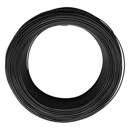 Aluminum Bonsai Wire - Grade A Dark Brown Annealed for Training Branches 21015 (1, 1.5mm) by Superfly Bonsai