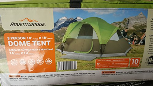 Amazon.com  Adventuridge 8 Person Dome Tent 14u0027x10u0027  Sports u0026 Outdoors & Amazon.com : Adventuridge 8 Person Dome Tent 14u0027x10u0027 : Sports ...