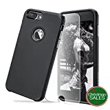 iPhone 7 Plus Case,Ultra Armor Shock Absorbing Heavy Duty Dual Layer Case Protection With Free Scree Protector For iPhone 7 Plus/ iPhone 6S Plus - Smart Black (Smart Black)