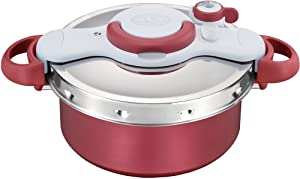 "T-fal Pressure Cooker ""ClipsoMinut Duo"" 5.2L (RED)?Japan Domestic genuine products?"