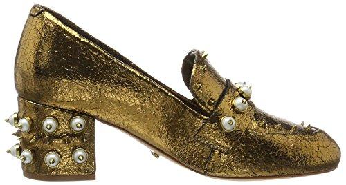 Schutz Damen Vrouwen Schoenen Pompen Goud (brons)