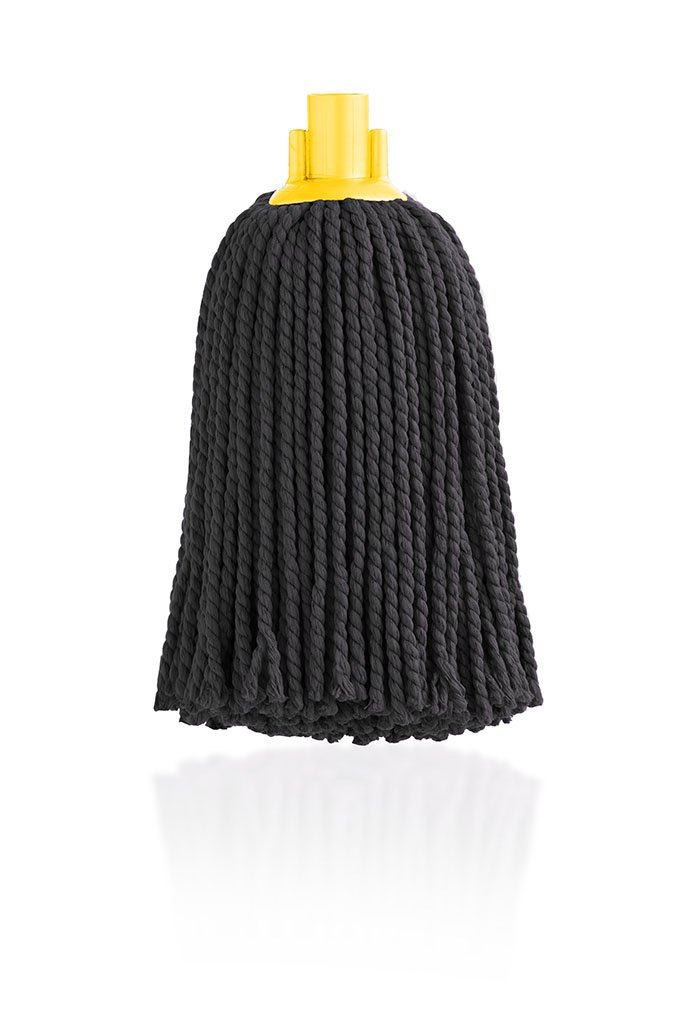 Maya 08110 - Microfibre Mop Head, 160g, Black Maya Professional Tools 08110-AM
