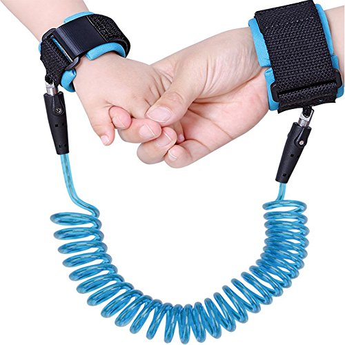 Child Anti Lost Wrist Link Safe Skin Friendly Anti Pricking Cotton Child Wrist Straps, Anti Lost Belt Toddler Safety Harness Kids Safety Leash Belts for Kids Runner Preschooler Babies & - Gate West Outlet